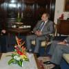 Audiencia entre el Ministro de Relaciones Exteriores del Paraguay y el Secretario del TPR