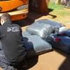 La AFIP secuestró 1.450 kilos de ropa usada valuada en más de $ 360.000