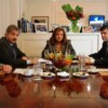 Garré y su par de San Luis analizaron políticas conjuntas contra el narcotráfico