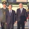 Timerman recibió en Ezeiza al primer ministro chino