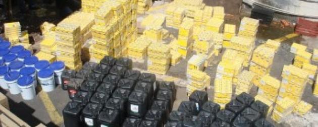 PARAGUAY: Aduanas decomisó artículos electrónicos, confecciones y alimentos por G. 839 millones