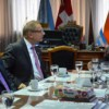 Tierra del Fuego: Crocianelli recibió al Embajador de Suiza en Argentina