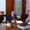 De Vido recibió al embajador de España
