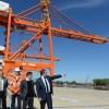 """Buenos Aires: Scioli supervisó avance de obras de """"gran impacto"""" – Puerto de La Plata"""