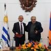 Uruguay y Armenia avanzan sobre tratado para evitar doble tributación y mejorar comercio