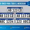 Uruguay será el primer país en empadronar vehículos con chapa del Mercosur