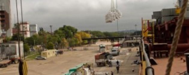 Entre Ríos: Puertos – Ya partieron de la provincia 13.500 toneladas de arroz con destino a Irak