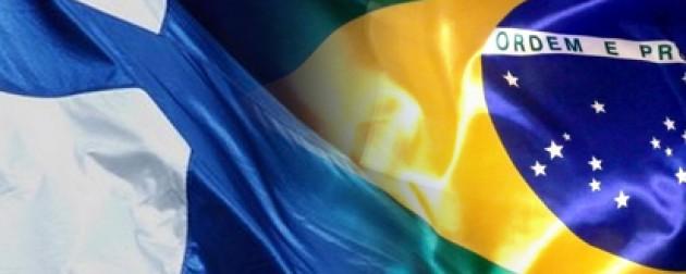 La presidenta Dilma quiere aumentar la inversión finlandesa en Brasil