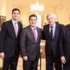Paraguay: Jefe de Estado recibió al ministro de Economía y Finanzas de Uruguay
