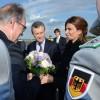 El presidente Mauricio Macri llegó a Berlín para reunirse con la canciller Angela Merkel