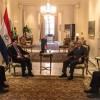 Jefe de Estado se reunió con embajador paraguayo en Japón