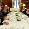 El presidente Mauricio Macri agasajó con un almuerzo al gobernador general de Australia, Peter Cosgrove
