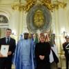 El presidente Macri recibió las cartas credenciales de nueve embajadores