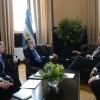 El presidente Macri mantuvo encuentros con empresarios en el marco del Foro de Inversión y Negocios de Argentina