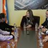 La Gobernadora suscribió el convenio de asistencia técnica para el análisis de la obra del Puerto de Río Grande
