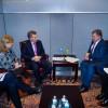 El presidente Mauricio Macri mantuvo una reunión bilateral con su par de Ucrania