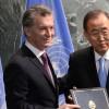 El presidente Macri entregó ante la ONU la adhesión argentina al Acuerdo de París