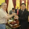 Energía limpia: Passalacqua recibió a inversores chinos