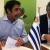El gobernador firmó un acuerdo con el Gobierno de Uruguay
