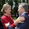 El presidente Mauricio Macri recibió a la reina Máxima de Holanda