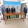 Firmaron el contrato para apertura de pasos en el Río Uruguay