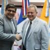 El Vicegobernador recibió a Delegación francesa de Brest