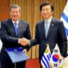 Uruguay y Corea del Sur reimpulsarán tratado de libre comercio entre el país asiático y el Mercosur
