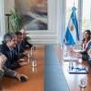 El jefe de Gabinete se reunió con el representante de Comercio de los Estados Unidos