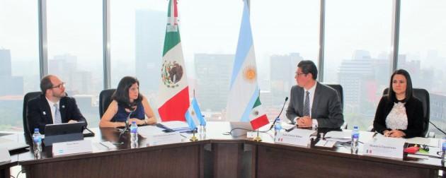 Una misión argentina viajó a México para profundizar el intercambio comercial