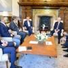 El presidente Mauricio Macri recibió al CEO de JP Morgan Chase, Jaime Dimon
