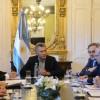 El Presidente se reunió con representantes de la Cámara de Exportadores de Oleaginosas