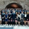 El Presidente encabezó la ceremonia de egreso de cuatro promociones de diplomáticos