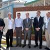 Bordet firmó el convenio para el dragado del puerto de Diamante que lo convertirá en estación de ultramar