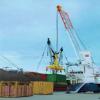 Puerto de Fray Bentos incorpora por primera vez grúa apta para operativa con contenedores