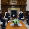 El presidente Macri recibió al director ejecutivo del banco Credite Agricole