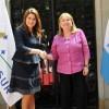 Malcorra recibió a su par de Honduras, María Dolores Agüero Lara