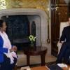 Mauricio Macri recibió a la canciller de Kenia