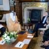 El Presidente recibió al director del Fondo de Inversión de Abu Dhabi
