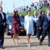 El presidente Mauricio Macri recorrió el puerto de Rotterdam
