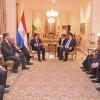 Jefe de Estado recibió visita de autoridades alemanas