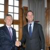 El Presidente se reunió con el Primer Ministro de los Países Bajos