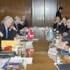 Braun, Mayer y Procaccini recibieron a la Presidente de Suiza, Doris Leuthard
