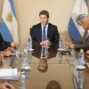 Funcionarios chilenos visitaron al gobernador
