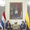 Presidentes de Paraguay y Colombia formalizaron varios acuerdos bilaterales