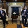 El presidente Mauricio Macri recibió al canciller de Singapur, Vivian Balakrishnan
