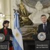 """Macri: """"Nos alegra que la Argentina nuevamente esté desempeñando un papel en el mundo"""""""