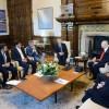 El Presidente recibió al gobernador del estado de Florida, EE.UU.