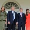 Macri fue recibido por el presidente de los Estados Unidos