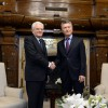 Mauricio Macri recibió al presidente de Italia
