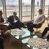 La delegación argentina se reunió con el Presidente de la Asamblea General de la ONU, Peter Thomson